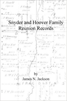 Snyder and Hoover Family Reunion Records